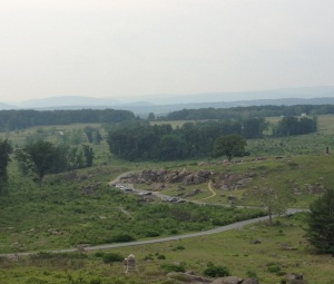 Little Round Top Gettysburg