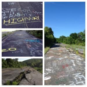 Grafitti Highway Centralia
