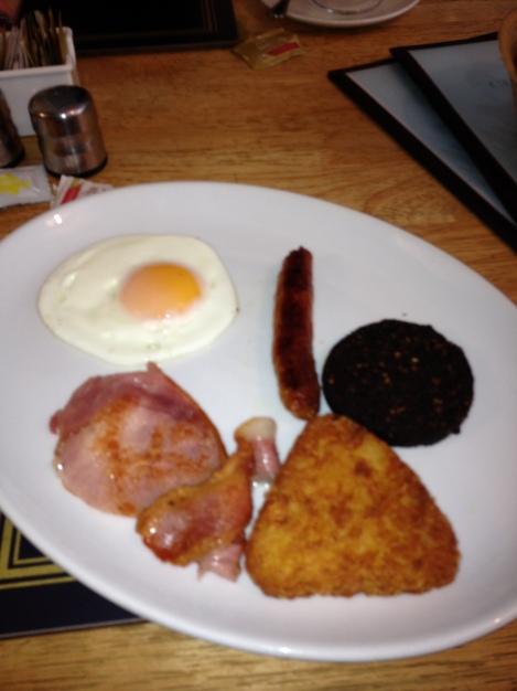 Irish Breakfast, Ultster Fry