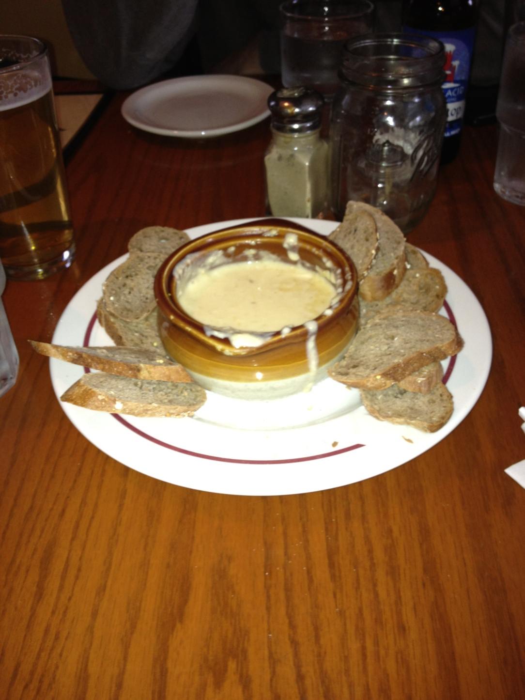 XC skiing should always incorporate fondue and beer.