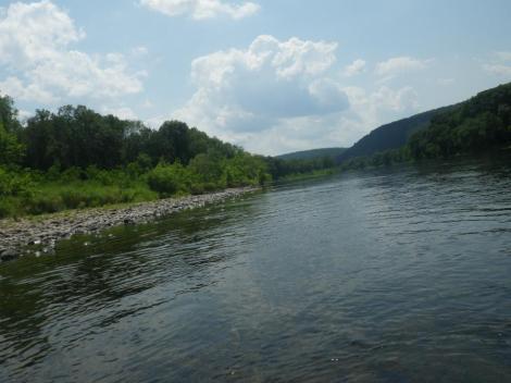 Kayaking the Delaware