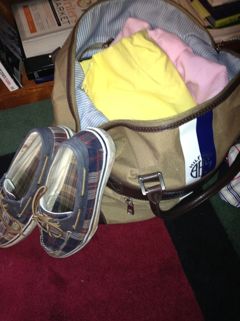This is how I pack for Preakness...I BELONG ON A YACHT.