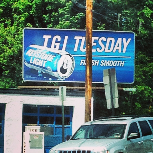 "The Keystone Light marketing department really knows their audience, which is just another reason I'm a big supporter of ""keeping it smooth."""