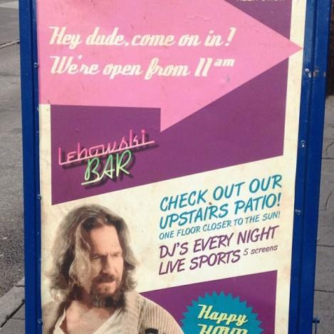 Big Lebowski Bar Iceland