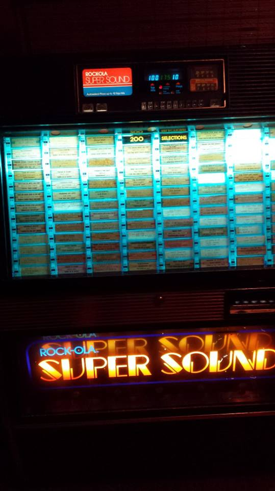 Nothing like a good old school juke box.