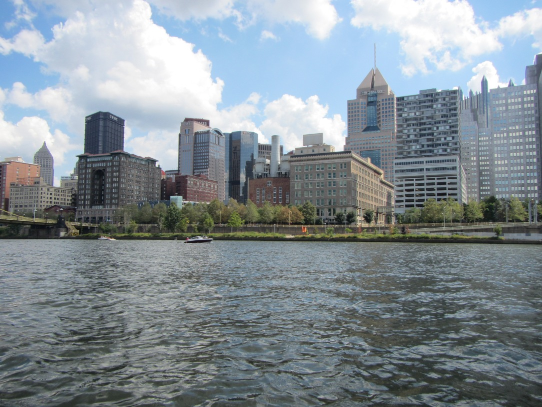 Pittsburgh from the river.