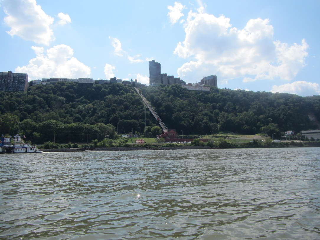 The Incline from the water.