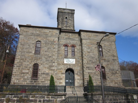 The Old Jail Museum in Jim Thorpe