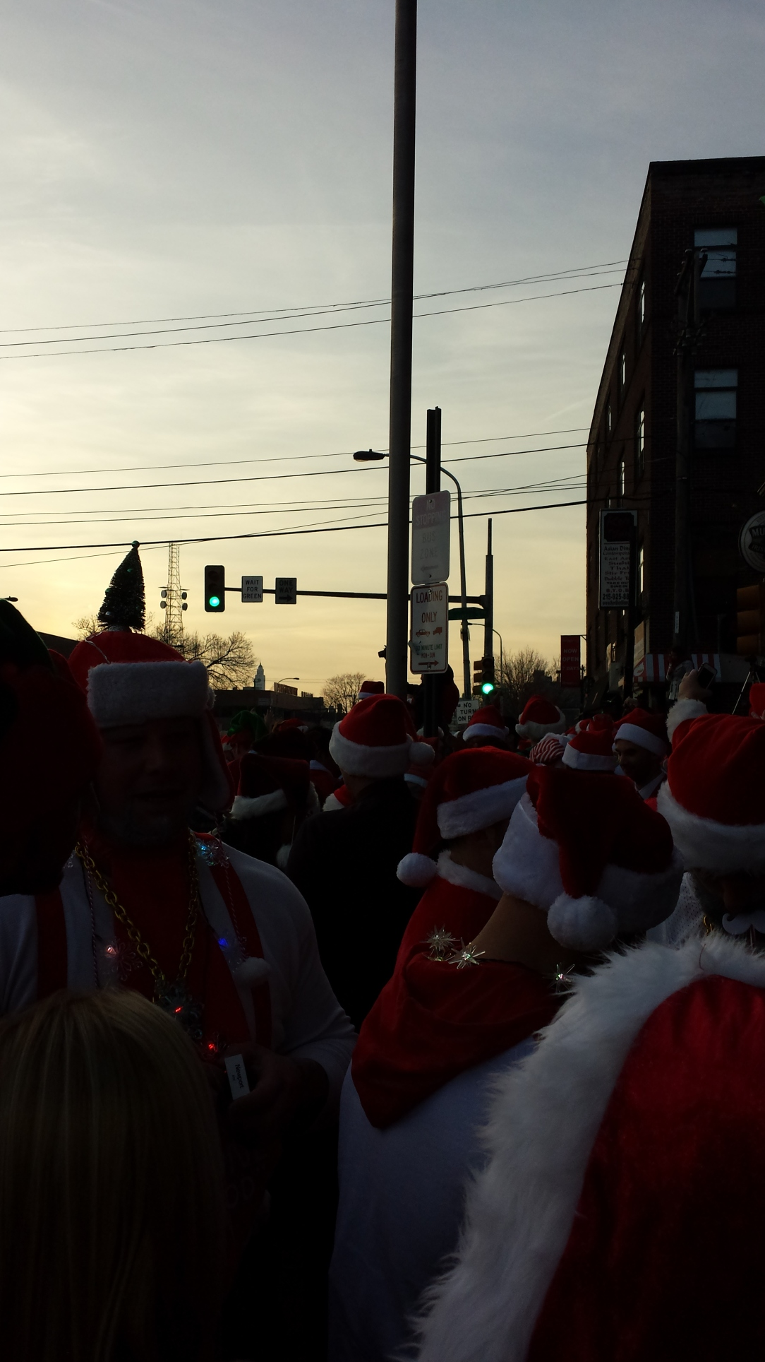 Running of the Santas