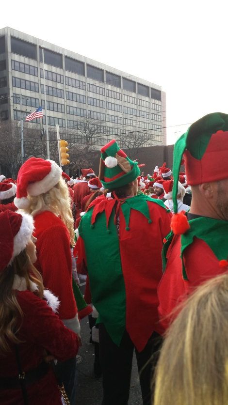 Running With the Santas