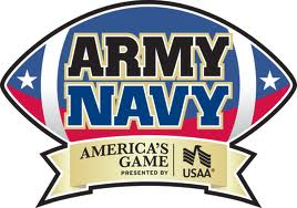 The Army Navy Game is presented by USAA who coincidentally I'm currently angry with for raising my car insurance.