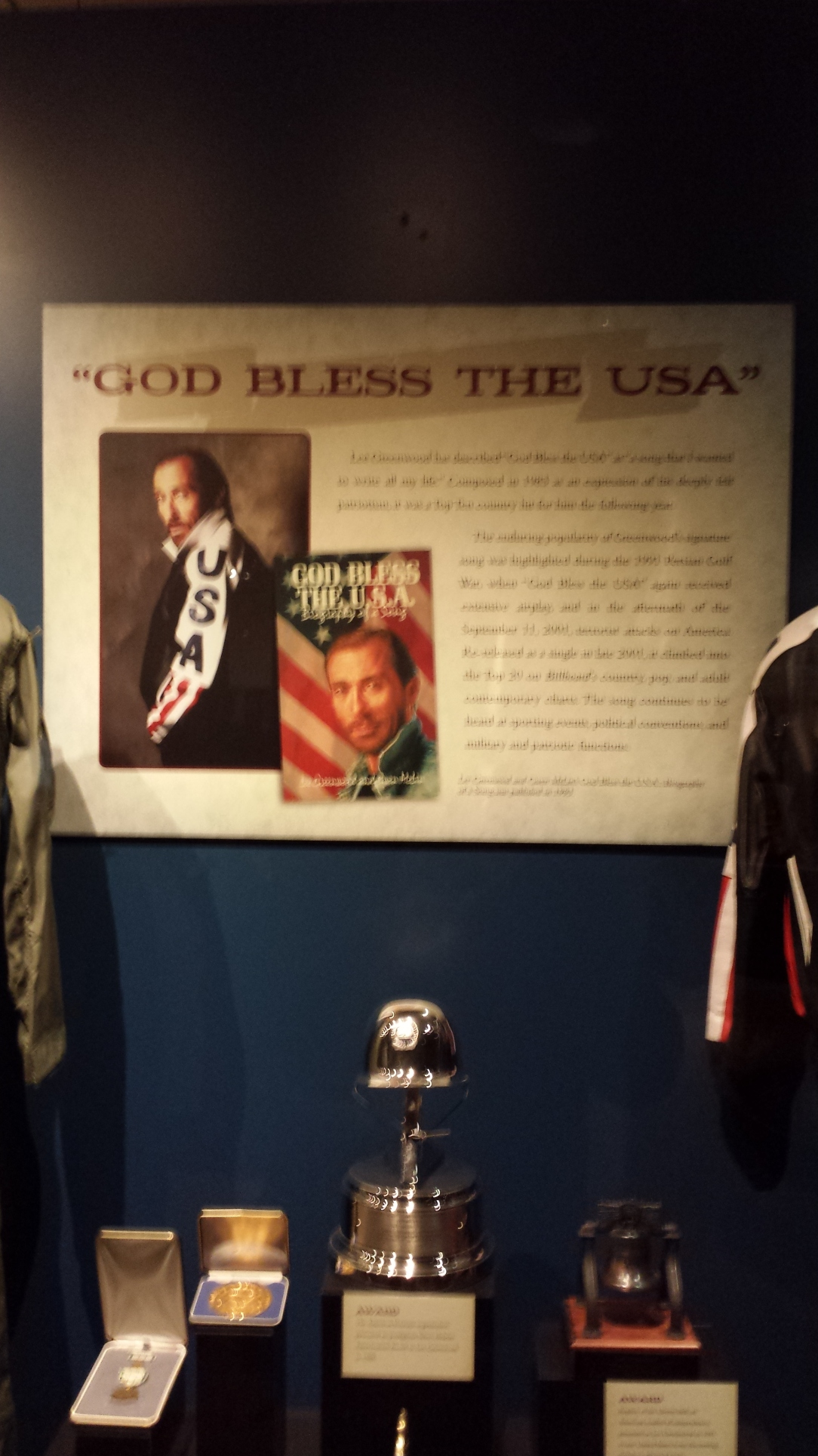 "I was looking at this expo on Lee Greenwood and ""God Bless the USA"" at approximately the same time Team USA was beating Team Russia. If that doesn't merit a ""USA"" chant, then what does?"