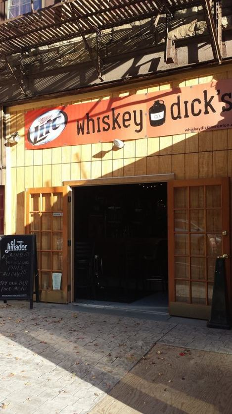"""I uploaded this to Facebook a few months ago with the caption, """"Happiness is Whiskey Dicks."""" It's a true statement."""