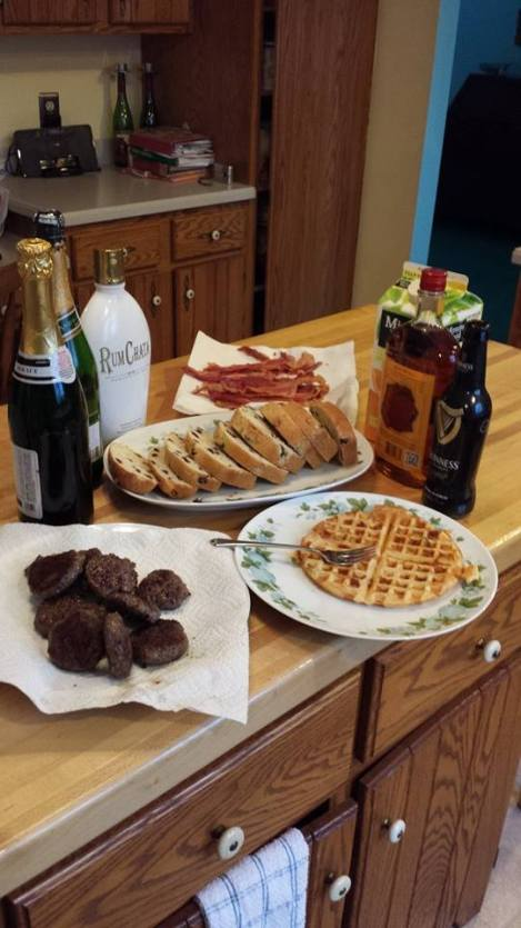 Speaking of good food, check out the phenomenal spin on an Irish breakfast we had for Parade Day this year.
