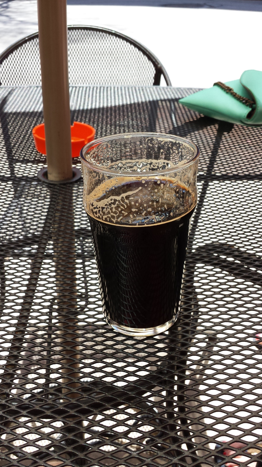 Starting the day with a nice Chocolate & PB stout courtesy of Springhouse.