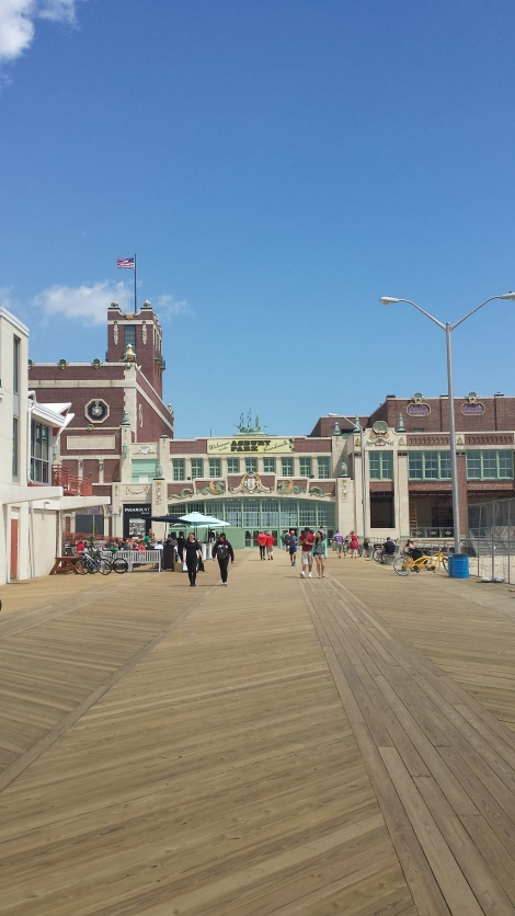 Greeting from Asbury Park, New Jersey.