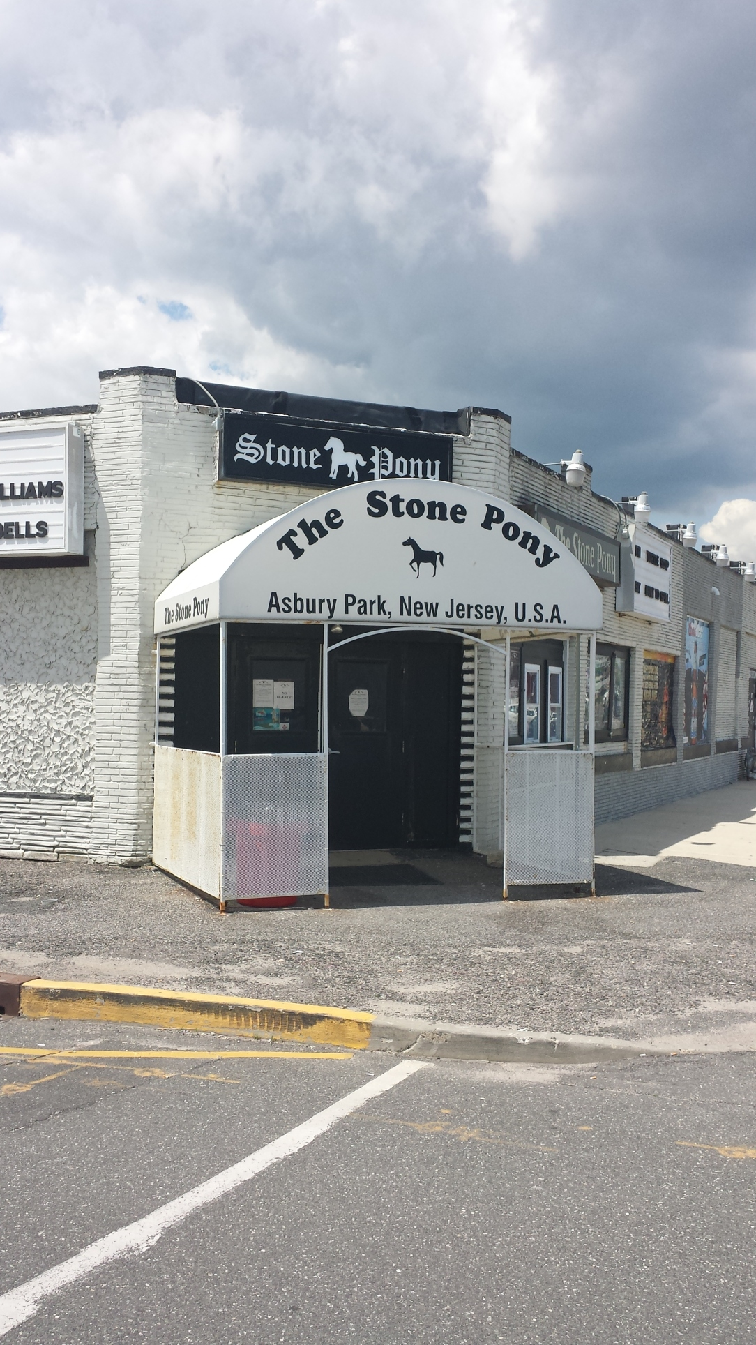 The Stone Pony: an icon of the Jersey shore music tradition.