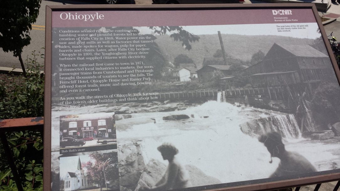 Reading up on some Ohiopyle history.