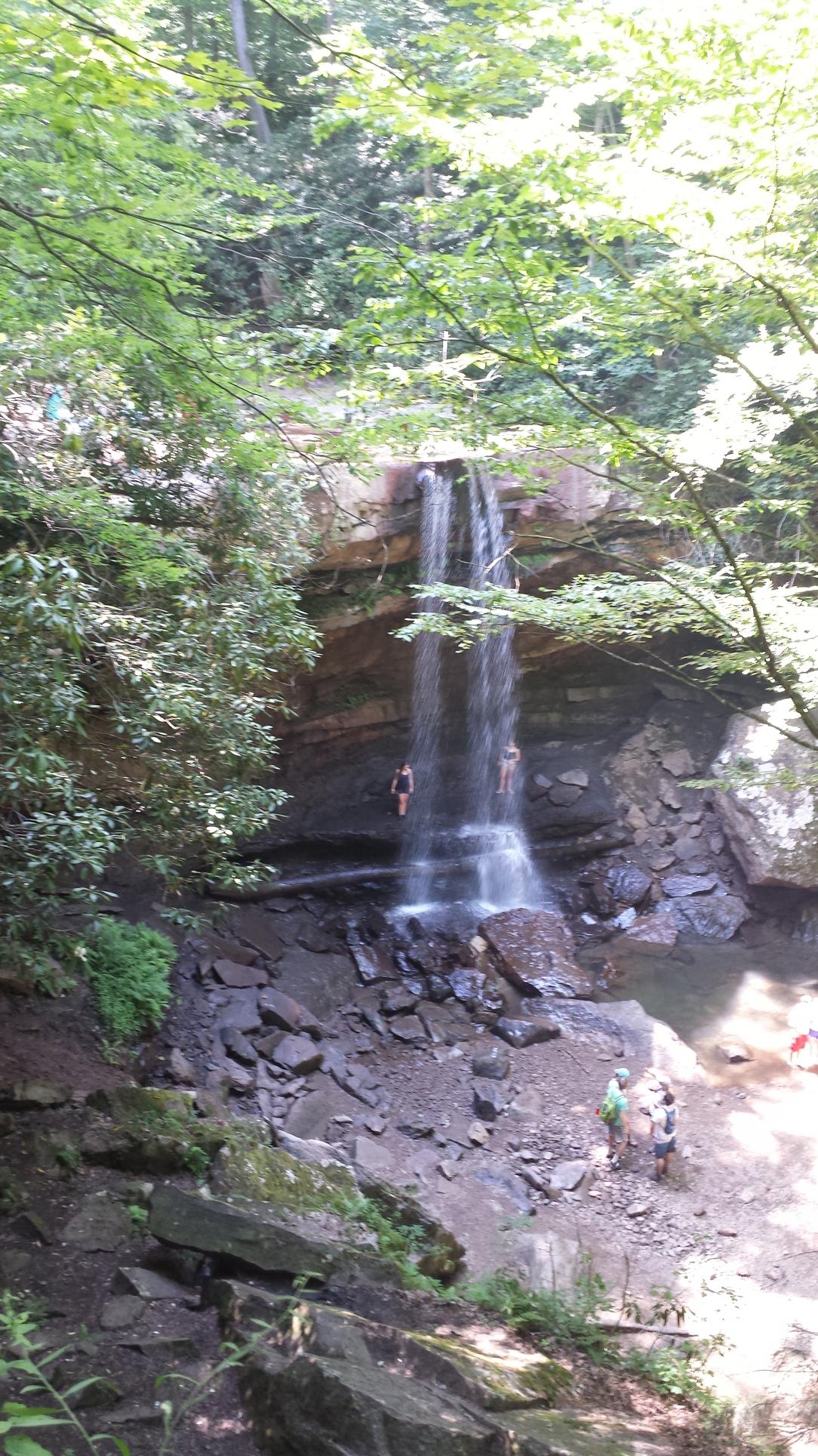 Cucumber Falls.