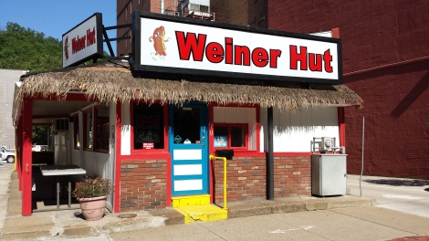 Sadly, the Weiner Hut was also closed.