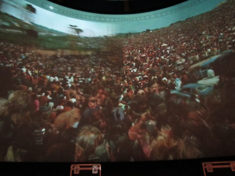 The 360 degree Woodstock experience.