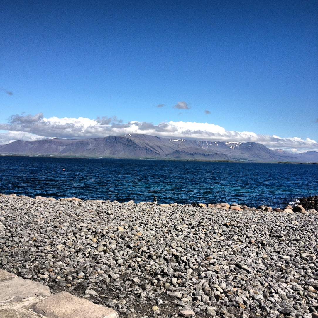 This was the picture I was going to initially #ThrowbackThursday, of Mt. Esja from Reykjavik harbor, which I then ended up ordering a canvas of. Impulse purchasing when unemployed probably isn't smart.