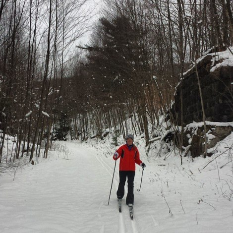 """This is not at Seven Springs, nor is it on a """"winter-fun"""" trip (Thanksgiving break behind my house) but it is indicative of what a winter-fun trip should entail."""
