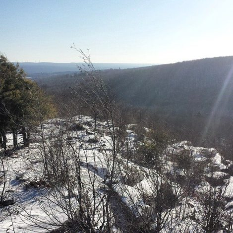 The view we were rewarded with at the top of the Stillwater Cliffs.