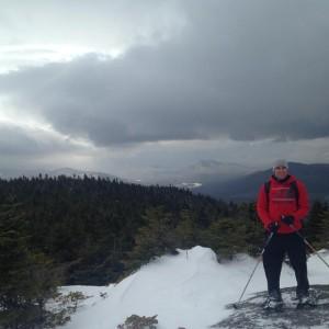 First high peak: Cascade MT.