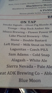 Some PA brews being represented up in ADK.