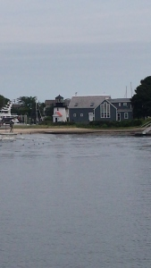 First lighthouse pic of the trip in Hyannis Harbor.
