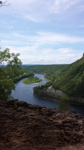 This gorgeous view is brought to you courtesy of New Jersey's Mt. Tammany.