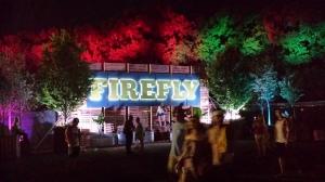 Firefly by night.