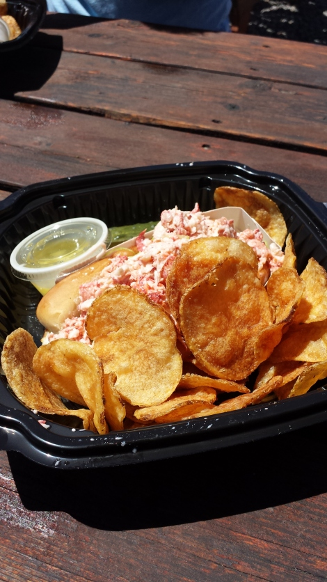 Lobster roll #1.