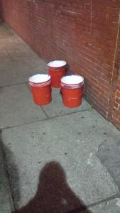 Big bucket beer pong.