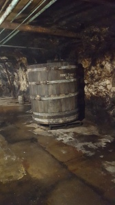 Inside the Yuengling caves.
