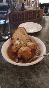 Meatballs from Bar Pazza in Scranton, which thus far was part of my best meal of 2017.